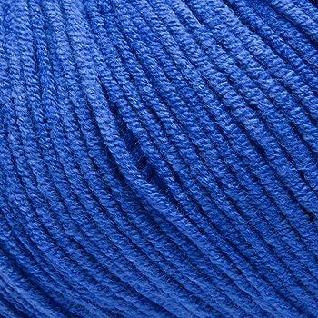 ggh Malibu - 013 - Azul - Algodón para tejer y hacer ganchillo: Amazon.es: Hogar