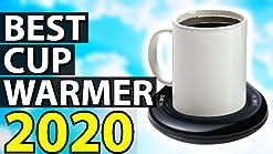 leche agua 20 W placa de calentador de bebidas el/éctrica con tres ajustes de temperatura etc. para t/é Calentador de caf/é y tazas para uso en oficina o en el hogar VOBAGA sopa cacao hasta 65 /°C