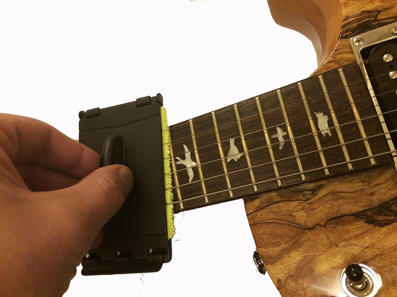 Limpiador de cuerdas para guitarra, Guitarra fingerplate ...