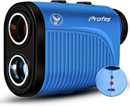 Profey Golf Rangefinder, 1500 Yard Laser Range Finder with Slope On/Off, Flag-Lock Tech with Vibration, 6X Continuous Scan...