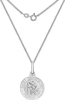 Tuscany Silver Cadena con colgante de plata, 46 cm