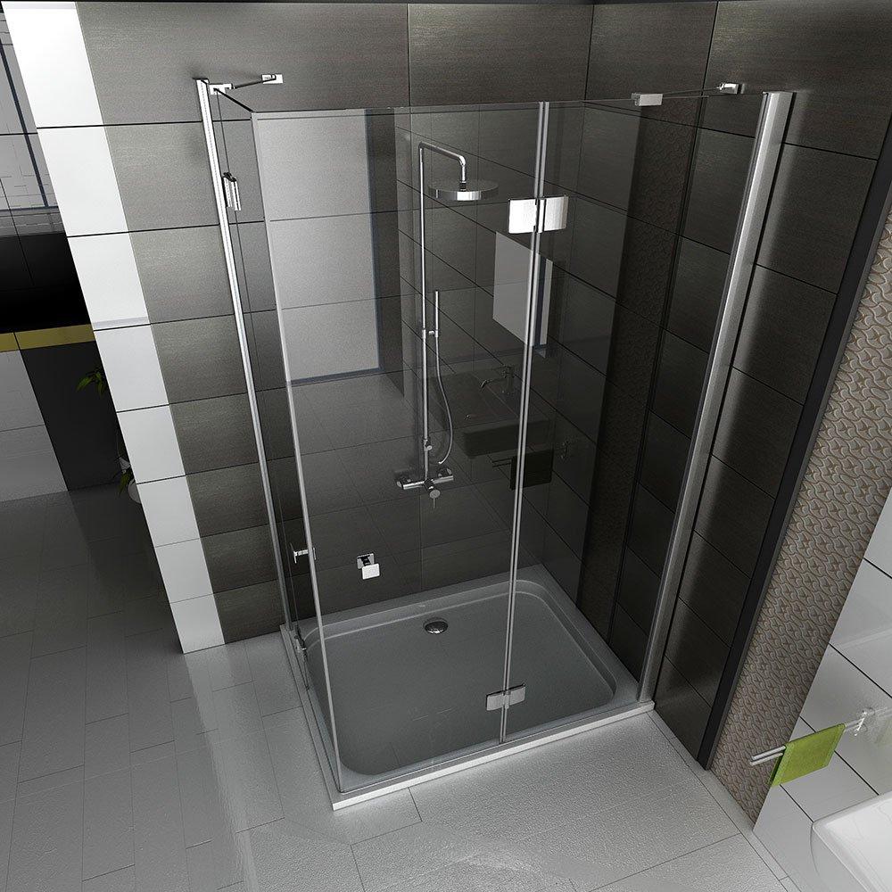 Diseño Esquina. Ducha cabina Incluye cristal vele delung Mampara ...