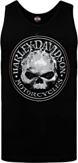 Harley-Davidson Military - Men's Skull Graphic Tank - NSA Bahrain | Smokey G