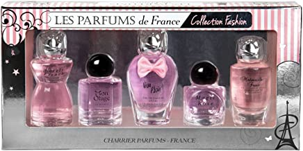 Charrier Parfums - Charrier Parfums - Les Parfums de France- 5 Eaux de Parfum Gift Set - Fashion Collection - Pink