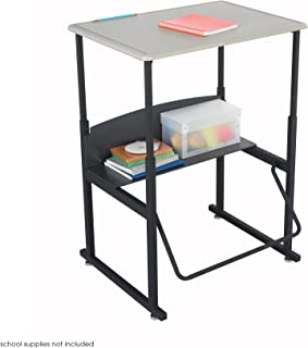 Safco Products AlphaBetter Adjustable-Height Desk, 1201BE, 28