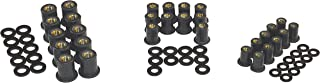 Well Nut Assortment 10 M4 M5 and M6 Wellnuts with Nylon Washers and Rubber Wellnuts, Great for Plumbing Water Craft Automotive and Motorcycle Repair, Fits Metric Screws, Home and Shop Repair Hardware