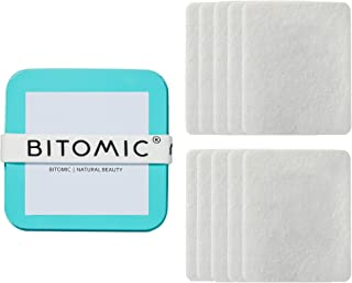 NUPAD Water Activated Makeup Remover Pads | Facial Cleansing Pads | 100% Organic Eco-friendly Fibre Non- Cotton Pad Best for Sensitive Skin | Exfoliating Pads Chemicals Free - 30 sec Face Wash -20 Pcs