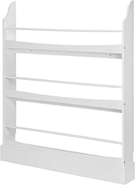UTEX Wall Bookshelf for Kids, Book Shelf Organizer and Storage for Kids Nursery Décor,Wall Mounted Kid's Book Rack Storage, 3