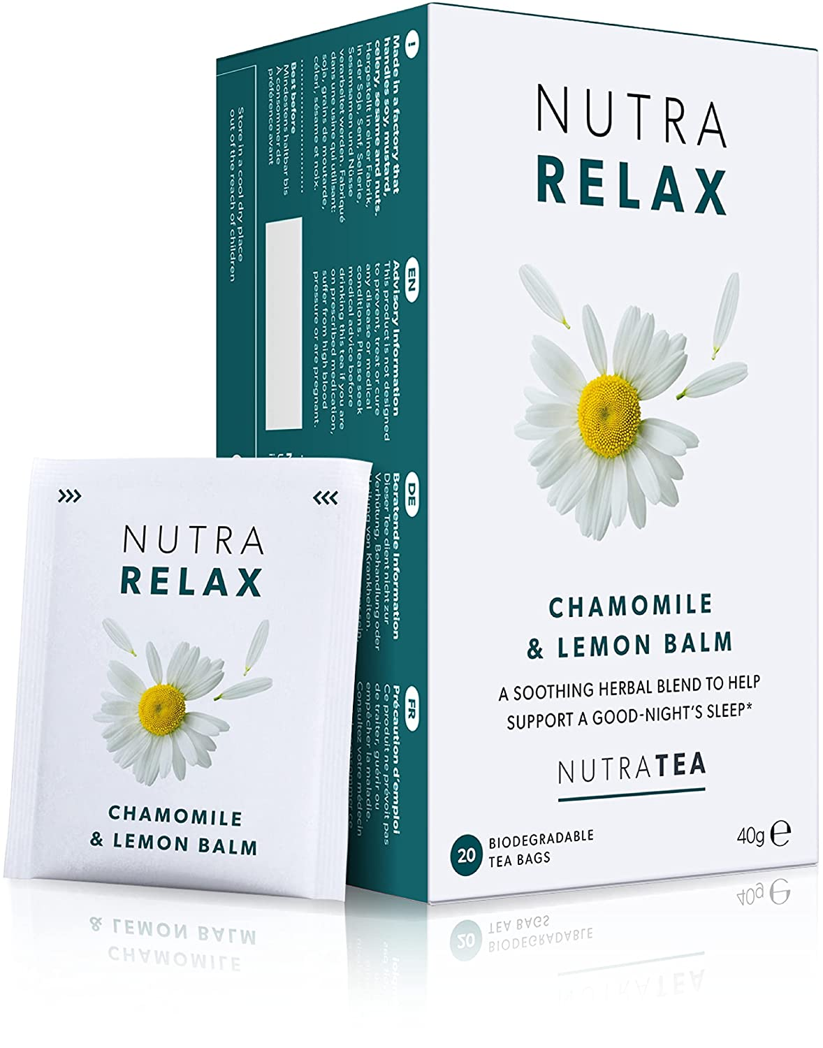 Discount is also underway NUTRARELAX - Sleep Tea Anxiety Recommended – Re Calming For
