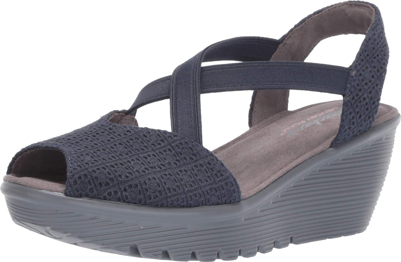 Skechers Women's Parallel-Peep Toe Gore