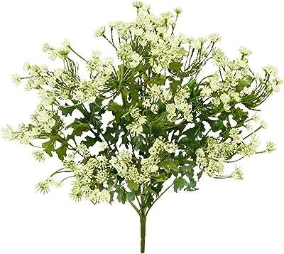 """4 20/"""" Queen Ann Artificial Flowers Silk Plants Wedding"""