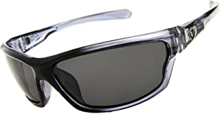 Men's Rectangular Sports Wrap 65mm Polarized Sunglasses
