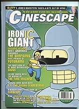 Cinescape March 2002 Matt Groening (Simpsons) E.T. Farscape X-Files MBX25