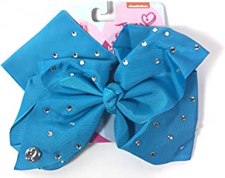 10 Assorted Dots Grid Flower Fabric Square Snap Hair Clips Big Baby Bows 80mm