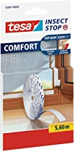 tesa Insect Stop Comfort Fly Screen Velcro Band Vervanging Roll, 11,2 Meter Klettband, roze/minze, 1
