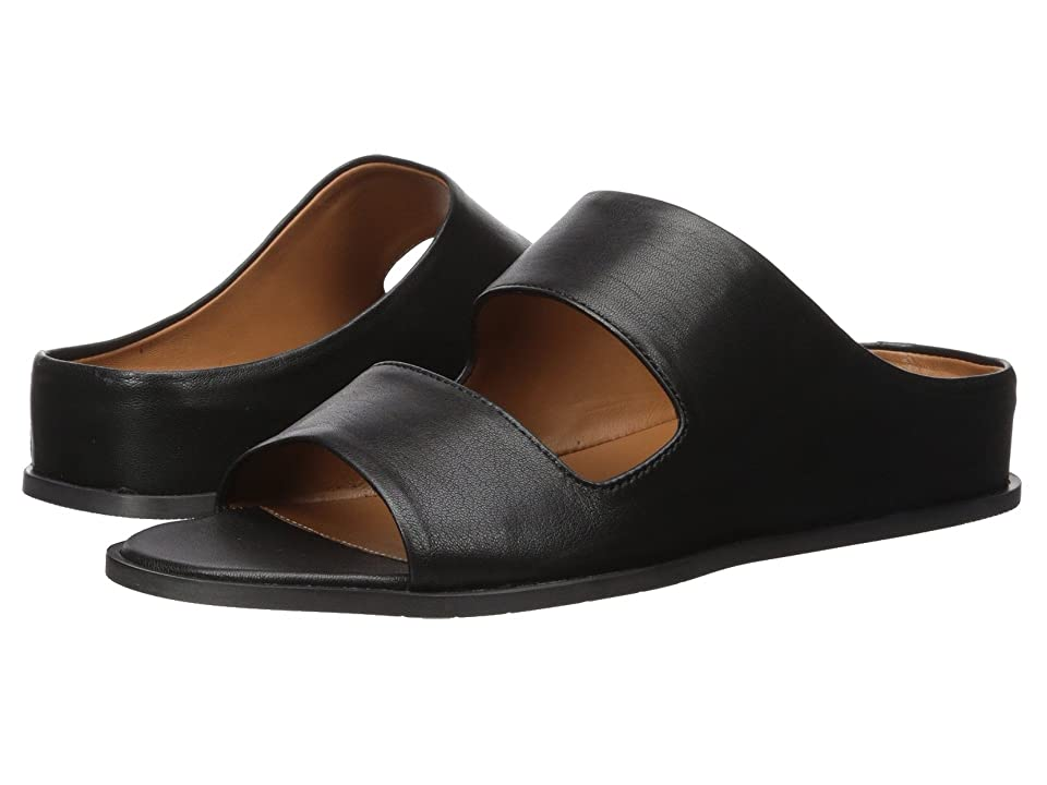7ae68c6bd87 Aquatalia Abbey Slide (Black Soft Nappa) Women