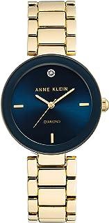 Reloj de pulsera para mujer con esfera de diamante
