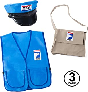 Mailman Costume for Kids - Mr. Postman Costume - Carreer Day - Occupational Costume - Dress Up
