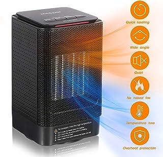 Calentador de Ventilador NASUM, Calentador Pequeño de 950 W, Calefacción de 3 Modos 2s Ahorro de Energía, Calefacción Ecológica, Adecuado Para Dormitorio, Oficina, Baño