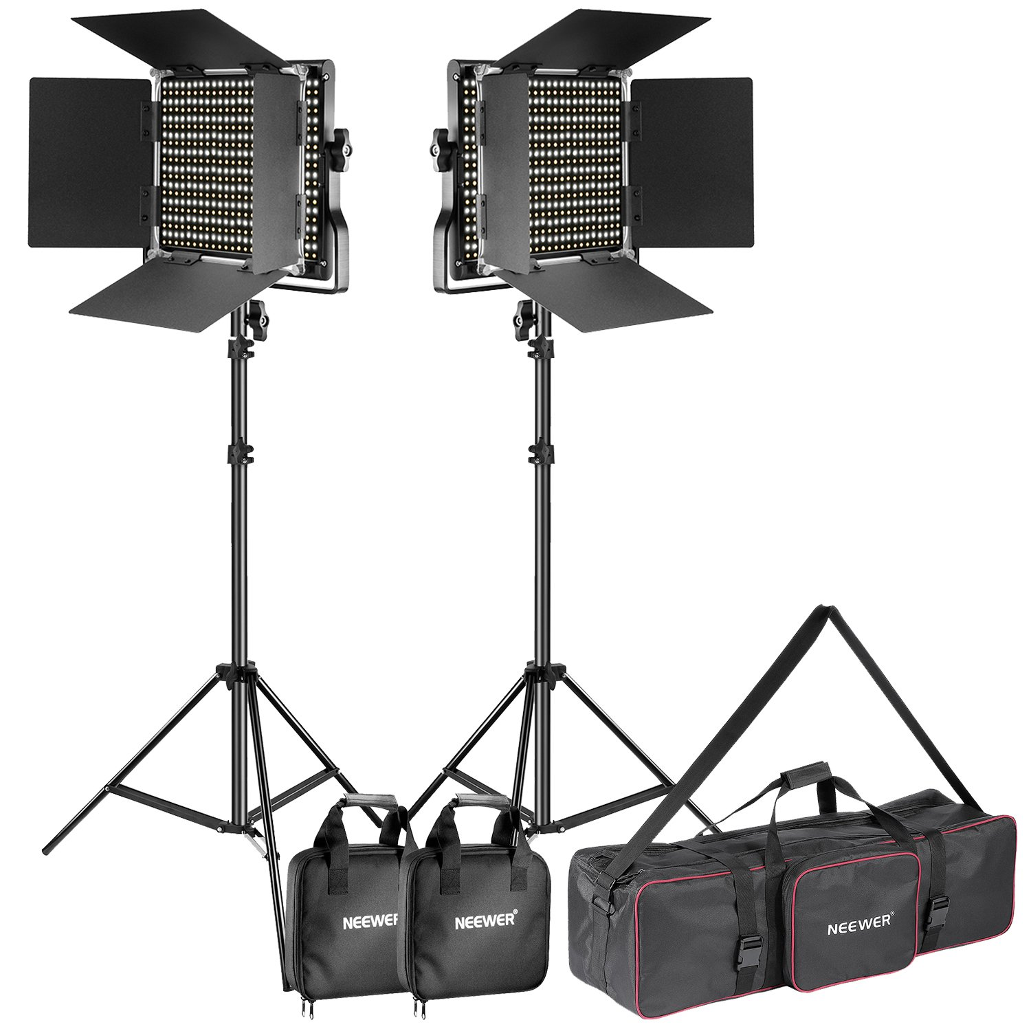 Neewer Dimmable Bi color Photography 3200 5600K