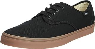 Vans Men's Madero Ankle-High Canvas Skateboarding Shoe Black/Gum