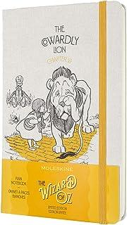 モレスキン ノート オズの魔法使い 限定版 ノートブック COWARDLY LION ハードカバー ラージサイズ 無地 LEWOZQP062CL