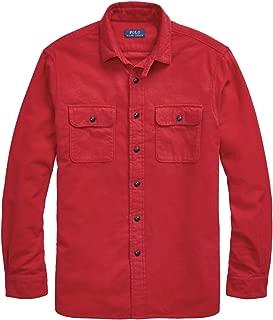 Polo Ralph Lauren Men's Solid Poplin Sport Shirt