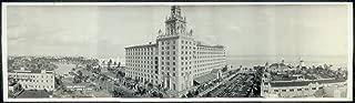 Vintage Reprints Photo Roney Plaza Hotel, Miami Beach, FLA, Jan. 1, 1930 1930