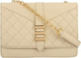 GM CREATIONS� Latest Fancy Trending Stylish Crossbody Leatherette Chain Sling bag With Non-Detachable Chain strap bag Ladi...