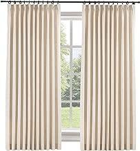 Best linen pleated drapes Reviews