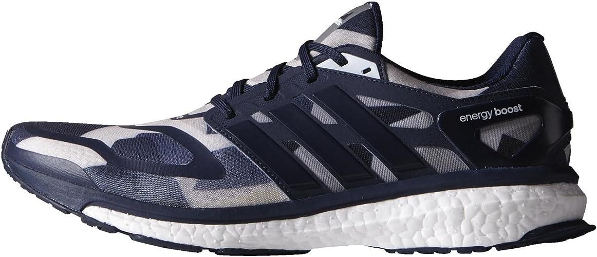 Adidas - B27204 - Chaussures de sport - Femme - Bleu Marine Blanc gris - 41 1 3 EU