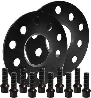 BlackLine Spurverbreiterung 10mm (5mm) mit Schrauben schwarz 5x112 57,1mm   10205W_90_M1415KU33Q