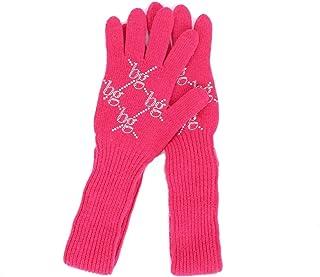 Blugirl Women's 40209PINK Fuchsia Wool Gloves