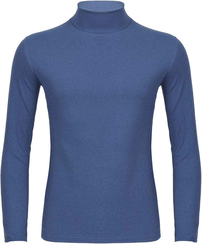 easyforever Mens Turtlrneck Long Sleeves Thermal Tops Autumn Winter Baselayer Undershirt Warm Underwear