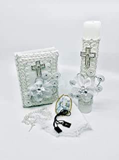 First Communion Candle Set