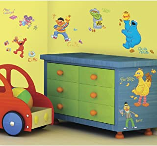 RoomMates Sesame Street Peel and Stick Wall Decals - RMK1384SCS