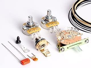 ToneShaper Guitar Wiring Kit, For Fender Telecaster, SSS2 (Nashville Wiring)