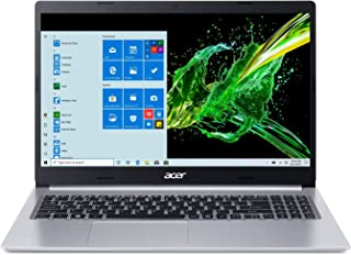 "Acer Aspire 5 A515-55-378V, 15.6"" Full HD Display, 10th Gen Intel Core i3-1005G1 Processor (Up to 3.4GHz), 4GB DDR4, 128GB NVMe SSD, WiFi 6, HD Webcam, Backlit Keyboard, Windows 10 in S Mode"