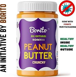 Borito All Natural Honey Crunchy Peanut Butter