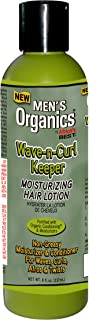 Africa's Best Men's Texture My Way Wave-N-Curl Keeper, 8 Ounce