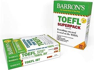 TOEFL iBT Superpack: 4 Books + Practice Tests + Audio Online (Barron's Test Prep)