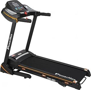 PowerMax Fitness TDM 100S (3HP Peak) Motorized Treadmill with Free Installation, 3 Years Motor Warranty, Home Use Foldable...