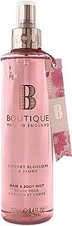 BOUTIQUE Cherry Blossom & Peony Hair & Body Mist, 250 ml