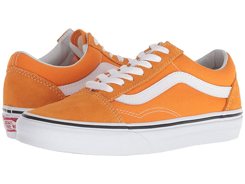 Vans Old Skooltm (Dark Cheddar/True White) Skate Shoes