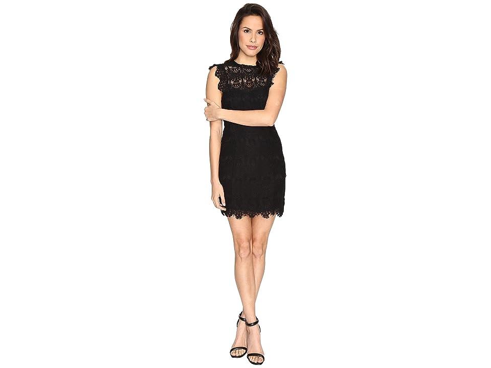 Free People Daydream Bodycon Slip Dress (Black) Women