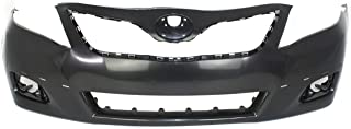 Front Bumper Cover Compatible with Toyota Camry 2010-2011 Primed SE Model USA Built