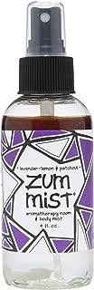 Indigo Wild Zum Mist Aromatherapy Spray, Lavender-Lemon and Patchouli, 4 Fluid Ounce