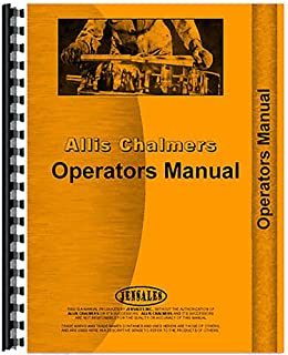 New Operators & Parts Manual Made for Allis Chalmers AC Tractor Impl Hitches