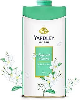 Yardley Jasmine perfumed Talcum Body Powder, sweet and bold jasmine scent - 125 gm