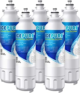 Icepure LT800P Refrigerator Water Filter Replacement for LG LT800P,ADQ73613401,ADQ73613403, ADQ73613402,Kenmore 9490,5PACK